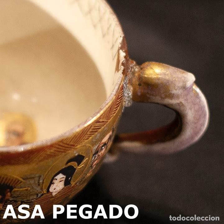 Antigüedades: Porcelana japonesa Satsuma /Japanese Satsuma porcelain - Foto 33 - 163272278