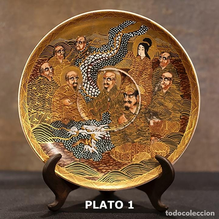 Antigüedades: Porcelana japonesa Satsuma /Japanese Satsuma porcelain - Foto 13 - 163272278
