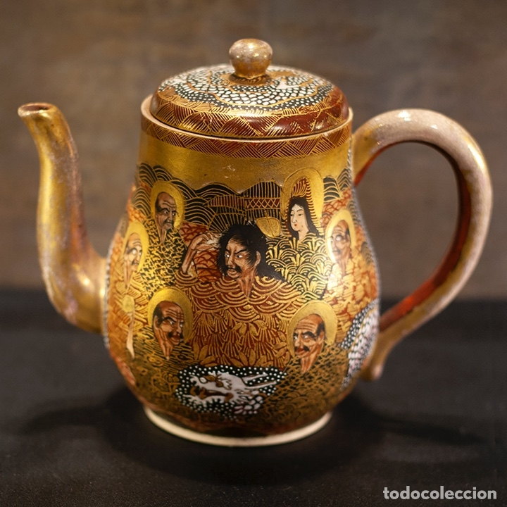 Antigüedades: Porcelana japonesa Satsuma /Japanese Satsuma porcelain - Foto 6 - 163272278