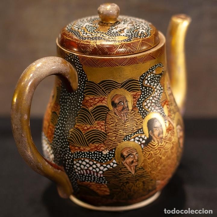 Antigüedades: Porcelana japonesa Satsuma /Japanese Satsuma porcelain - Foto 3 - 163272278