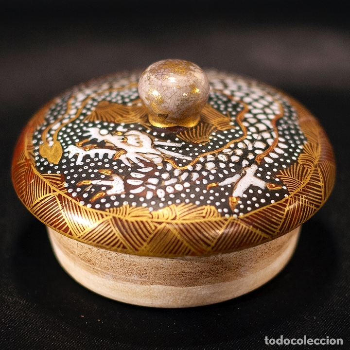 Antigüedades: Porcelana japonesa Satsuma /Japanese Satsuma porcelain - Foto 11 - 163272278