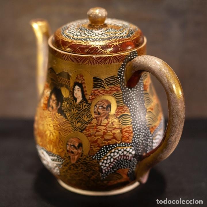 Antigüedades: Porcelana japonesa Satsuma /Japanese Satsuma porcelain - Foto 4 - 163272278