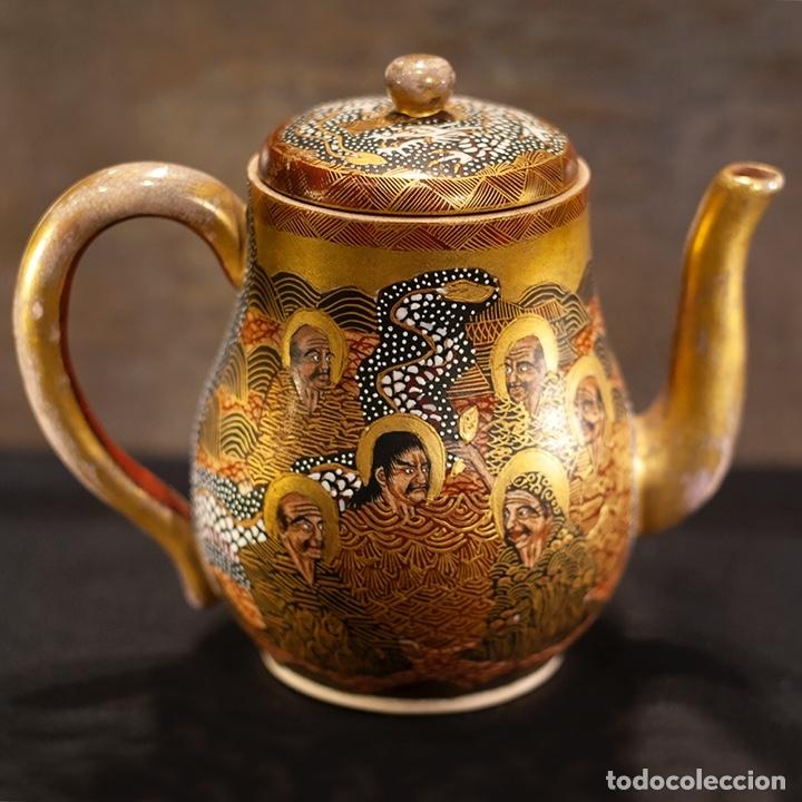 Antigüedades: Porcelana japonesa Satsuma /Japanese Satsuma porcelain - Foto 2 - 163272278