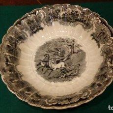 Antigüedades: BONITA FUENTE DE CARTAGENA LAÑADA SIGLO XIX. Lote 163873786