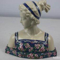 Antiques - Busto de dama, estilo Art Nouveau. - 163879170