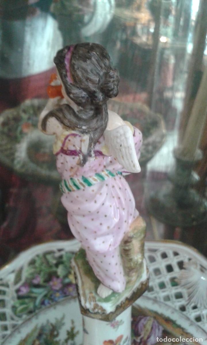 Antigüedades: Vajilla de porcelana MEISSEN (5 Piezas ) Haga utd. su mejor OFERTA - Foto 7 - 74291695