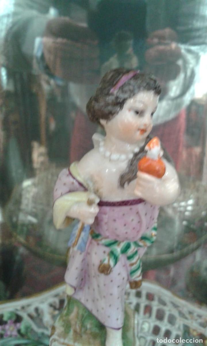 Antigüedades: Vajilla de porcelana MEISSEN (5 Piezas ) Haga utd. su mejor OFERTA - Foto 8 - 74291695