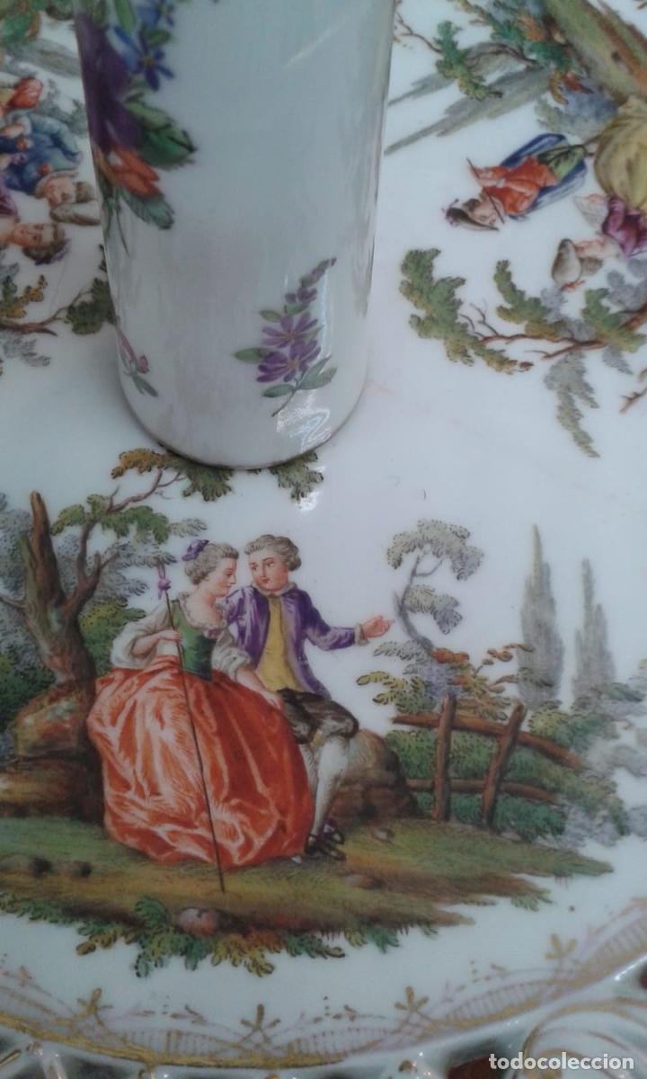 Antigüedades: Vajilla de porcelana MEISSEN (5 Piezas ) Haga utd. su mejor OFERTA - Foto 9 - 74291695