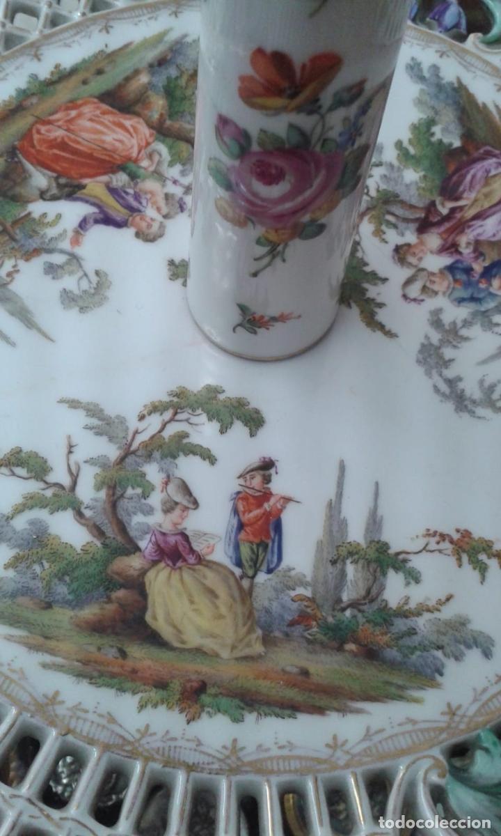Antigüedades: Vajilla de porcelana MEISSEN (5 Piezas ) Haga utd. su mejor OFERTA - Foto 10 - 74291695