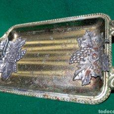 Antigüedades: BANDEJITA CON UVAS ( DETALLE). Lote 163941785