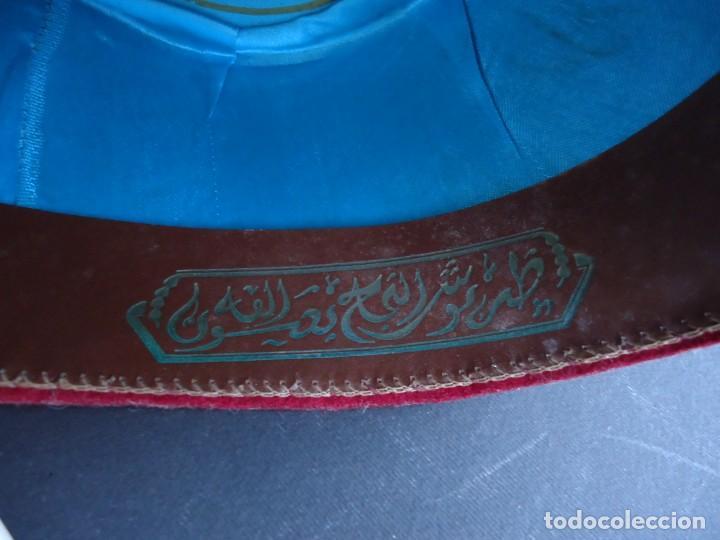 Antigüedades: ANTIGUO GORRO MORO FEZ - Foto 5 - 163956842