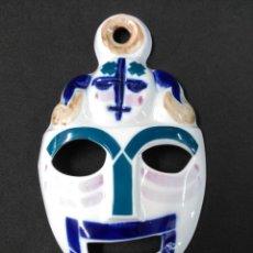 Antigüedades: MASCARA DE PORCELANA DE SARGADELOS. Lote 163957410