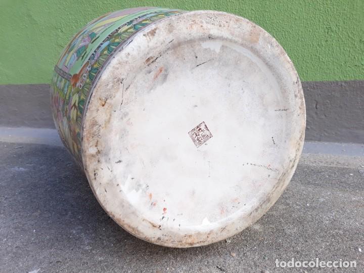 Antigüedades: Grande Jarrón Chino-Med Siglo XX - Foto 6 - 163971318