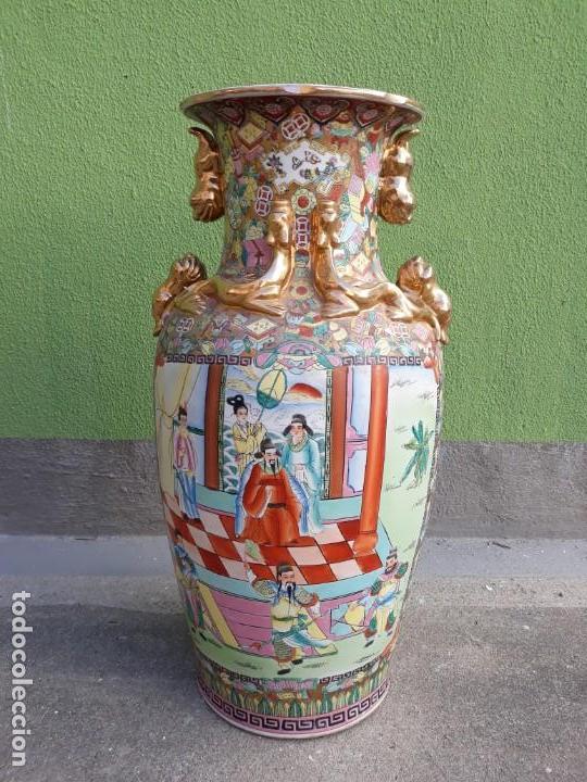 GRANDE JARRÓN CHINO-MED SIGLO XX (Antigüedades - Porcelanas y Cerámicas - China)