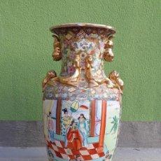 Antigüedades: GRANDE JARRÓN CHINO-MED SIGLO XX. Lote 163971318