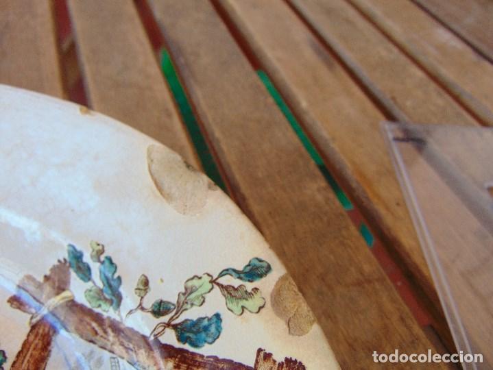 Antigüedades: ANTIGUA BANDEJA EN CERAMICA VENTA DE GUADAIRA M .VEGA LA CARTUJA ?? - Foto 6 - 163972774