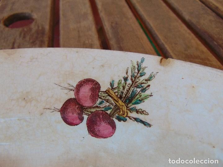 Antigüedades: ANTIGUA BANDEJA EN CERAMICA VENTA DE GUADAIRA M .VEGA LA CARTUJA ?? - Foto 7 - 163972774