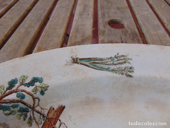 Antigüedades: ANTIGUA BANDEJA EN CERAMICA VENTA DE GUADAIRA M .VEGA LA CARTUJA ?? - Foto 8 - 163972774
