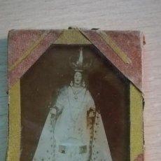 Antigüedades: ANTIGUA FOTOGRAFIA VIRGEN DESCONOCIDA. Lote 163974458