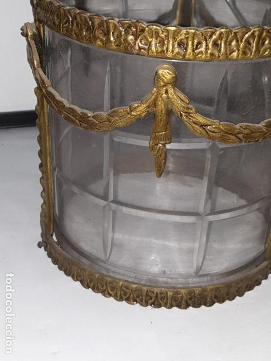 Antigüedades: FAROL METAL - Foto 5 - 163979766