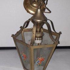Antiquitäten - FAROL CRISTAL METAL - 163979946