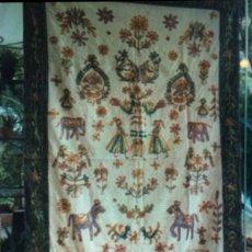 Antigüedades: TAPIZ HINDU. Lote 163991894