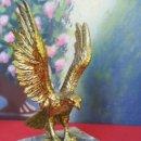 Antigüedades: ÁGUILA DE BRONCE. Lote 164038204