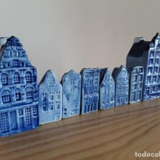 Antigüedades - Casitas porcelana holandesa - 164069526
