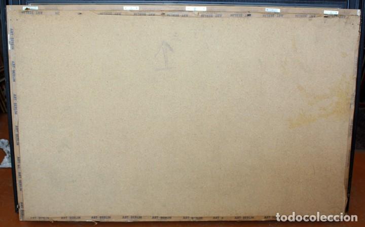 Antigüedades: COMPOSICION BORDADA HINDU EN RELIEVE CON HILOS DE ORO, LENTEJUELAS Y PEDRERÍA. 105 X 170 - Foto 13 - 164117834