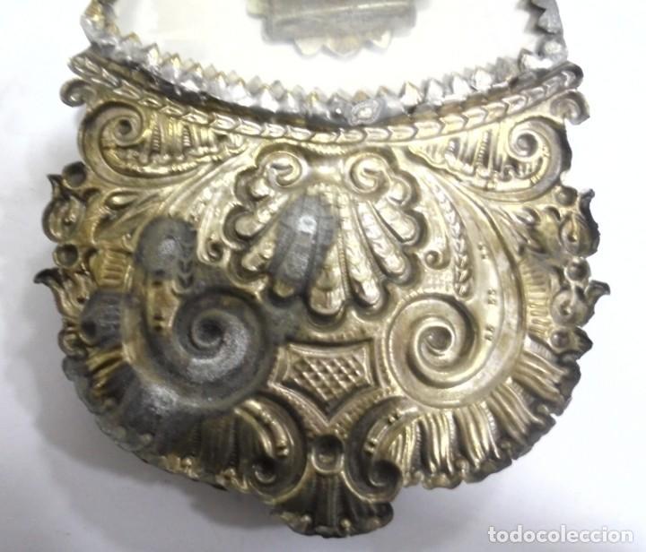 Antigüedades: ANTIGUA CRUZ. RELIQUIA. METAL. NOMBRES DE IMAGENES. VIRGEN DE LOS REYES, DEL ROCIO, MACARENA. VER - Foto 16 - 164120458