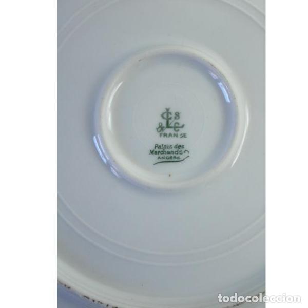 Antigüedades: Antiguo juego de porcelana francesa - Foto 5 - 164144402