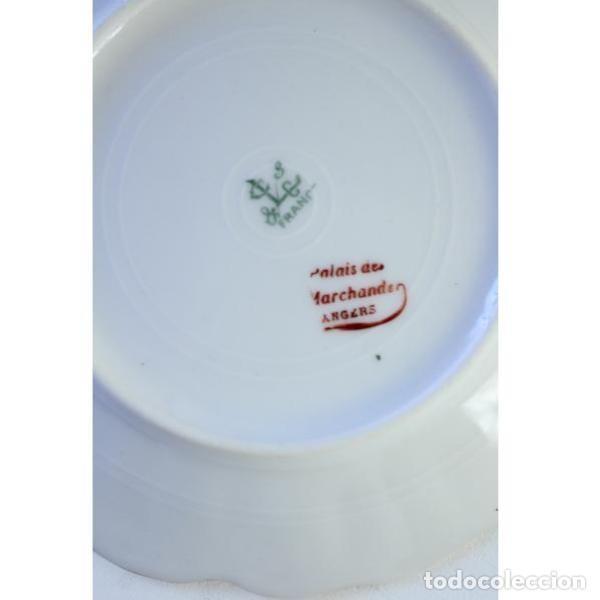 Antigüedades: Antiguo juego de porcelana francesa - Foto 6 - 164144402