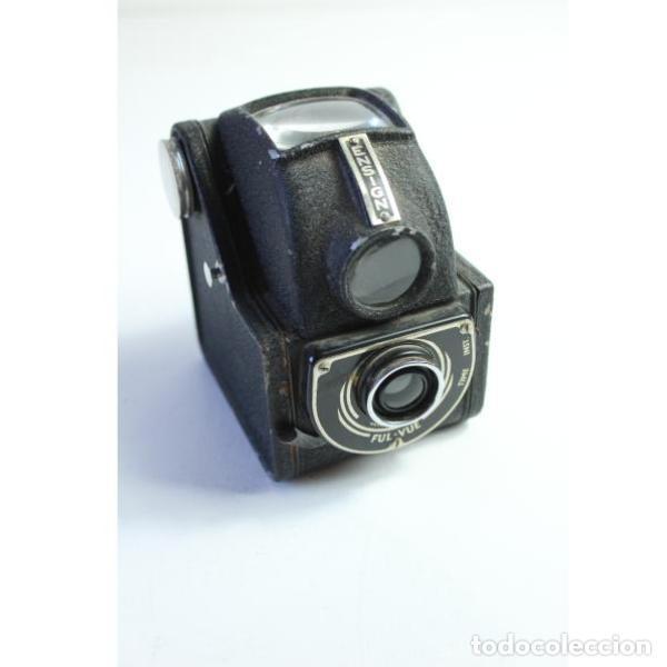 Antigüedades: Antigua cámara de fotos inglesa Ensign - Foto 2 - 164144962