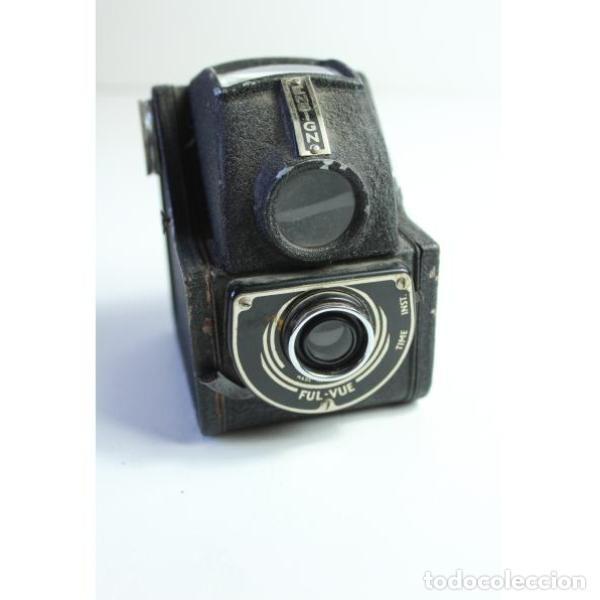 Antigüedades: Antigua cámara de fotos inglesa Ensign - Foto 5 - 164144962