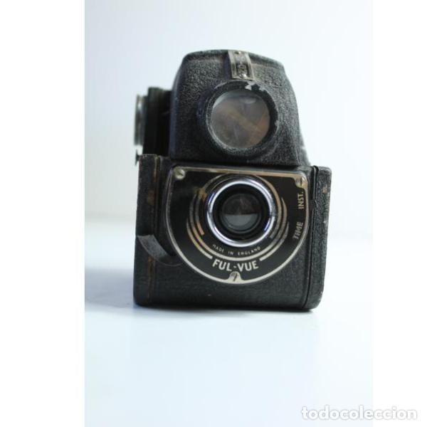 Antigüedades: Antigua cámara de fotos inglesa Ensign - Foto 7 - 164144962