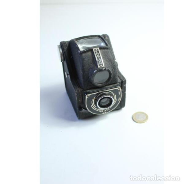Antigüedades: Antigua cámara de fotos inglesa Ensign - Foto 8 - 164144962