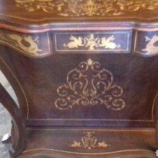 Antigüedades: CONSOLA MUEBLE DE RECIBIDOR. Lote 164170032