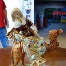 Antigüedades: FIGURA DE PORCELANA ALEMANA DE MEISSEN DE MEDIADOS DEL SIGLO XX. Lote 163790294