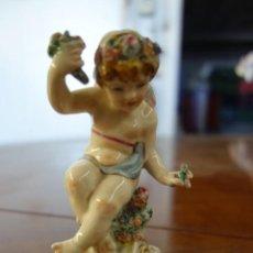 Antigüedades: FIGURA DE PORCELANA ALEMANA DE MEISSEN . Lote 163799422