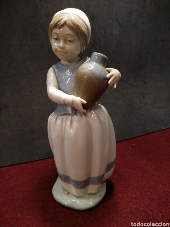 Antigüedades: Figura porcelana Zaphir, 2° marca de Lladro - Foto 2 - 164189214