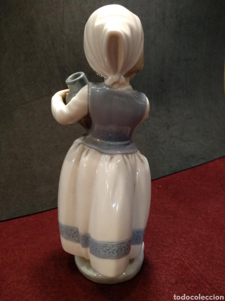 Antigüedades: Figura porcelana Zaphir, 2° marca de Lladro - Foto 3 - 164189214