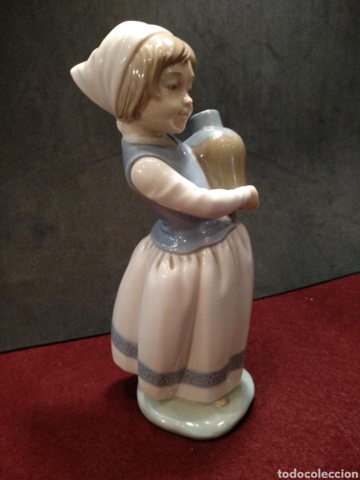 Antigüedades: Figura porcelana Zaphir, 2° marca de Lladro - Foto 4 - 164189214