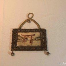 Antigüedades: CUADRO BORDADO JAPON. Lote 164191090