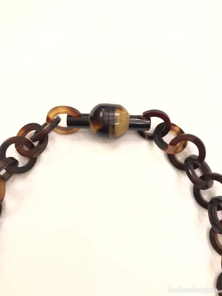 Antigüedades: Collar de imitación carey Art Deco - Foto 4 - 164199426