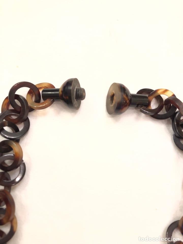 Antigüedades: Collar de imitación carey Art Deco - Foto 5 - 164199426