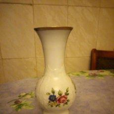 Antigüedades: PRECIOSO JARRON DE PORCELANA ROYAL PORZELLAN BAVARIA KPM GERMANY HANDARBEIT. Lote 164209050