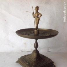 Antigüedades: ANTIGUO CENTRO DE MESA , MOTIVOS MITOLOGICOS . EPOCA ISABELINA - SIGLO XIX. Lote 79044749
