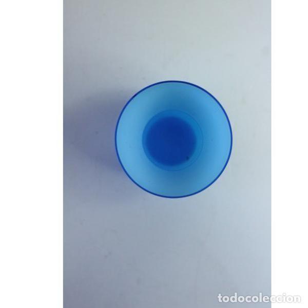 Antigüedades: Antiguo florero de cristal - Foto 3 - 164277754