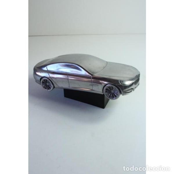 Antigüedades: Antiguo coche BMW figura miniatura - Foto 2 - 164278122