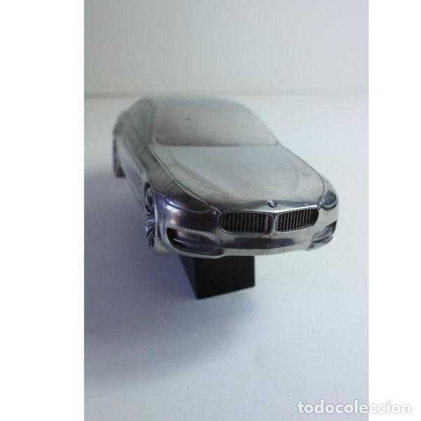 Antigüedades: Antiguo coche BMW figura miniatura - Foto 3 - 164278122